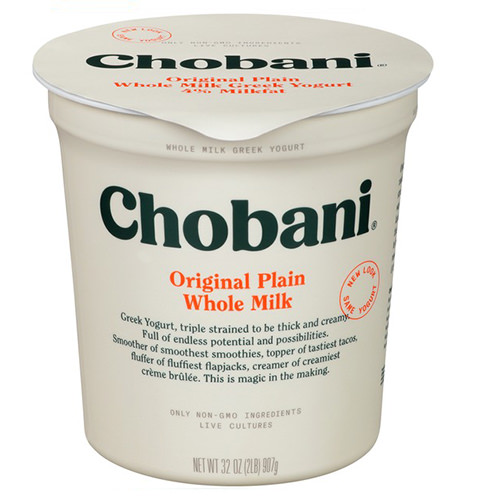 Intro To Keto: Kickstart Keto Chobani Whole Milk Greek via wannaliv.com