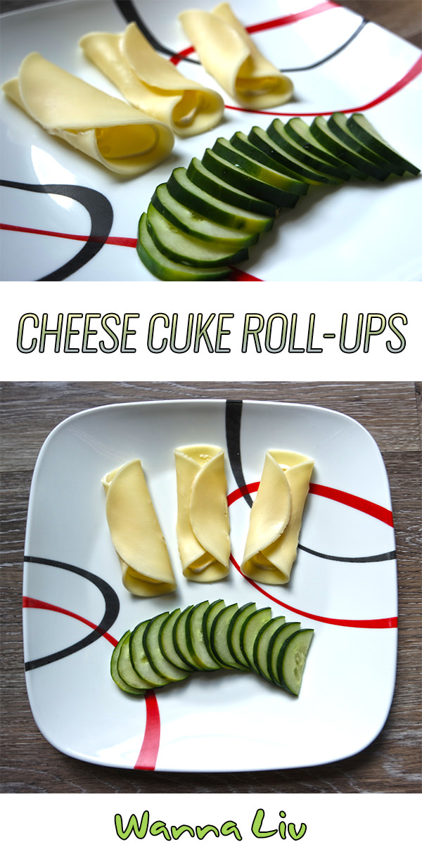 Intro To Keto: Kickstart Keto Cheese Cuke Roll-ups via wannaliv.com
