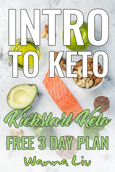Intro To Keto: Kickstart Keto Free 3 Day Plan via wannaliv.com