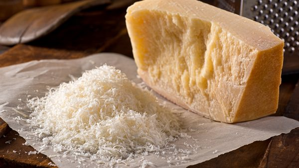High Protein Foods: Parmesan Cheese