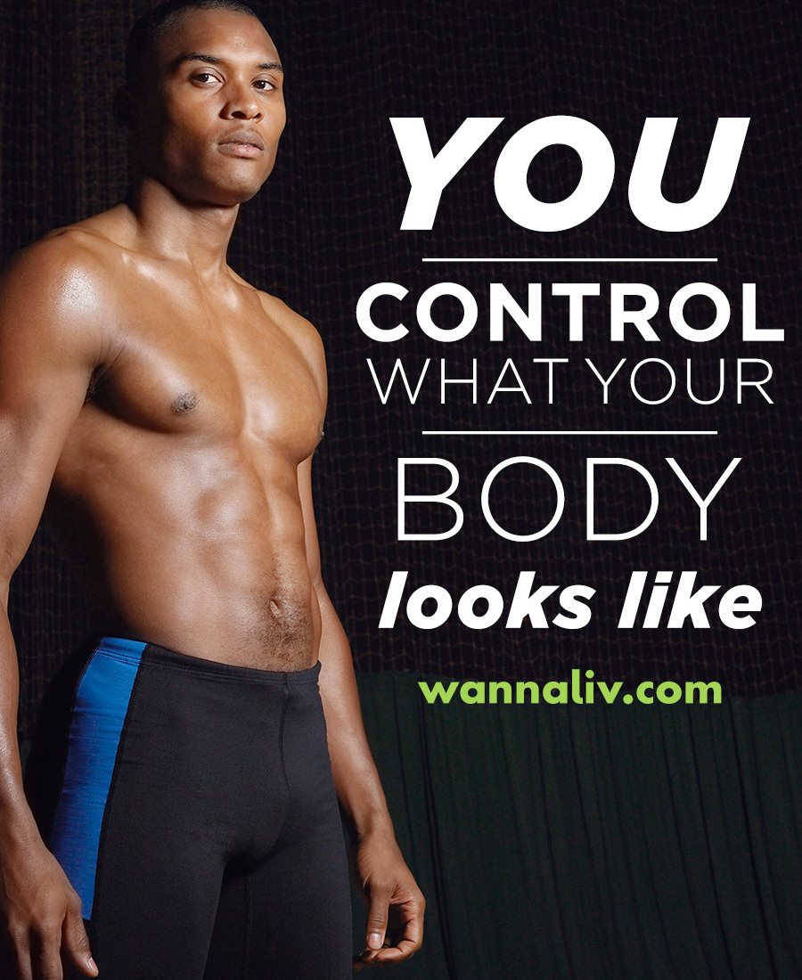 You control what your body looks like. | Amazing Motivational & Inspirational Gym Quotes via Wanna Liv #wannaliv