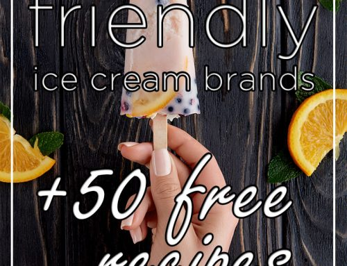 Keto/Low Carb Friendly Ice Cream Brands + 50 Free Recipes