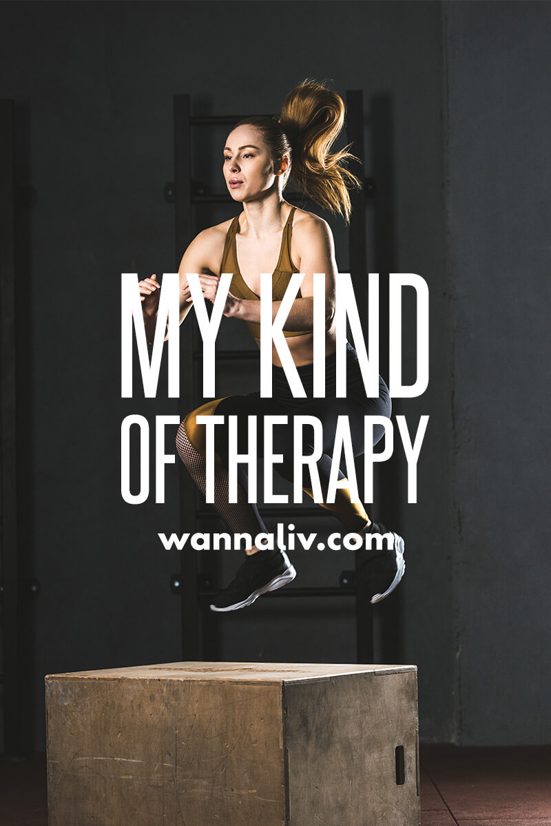 My kind of therapy. | Amazing Motivational & Inspirational Gym Quotes via Wanna Liv #wannaliv