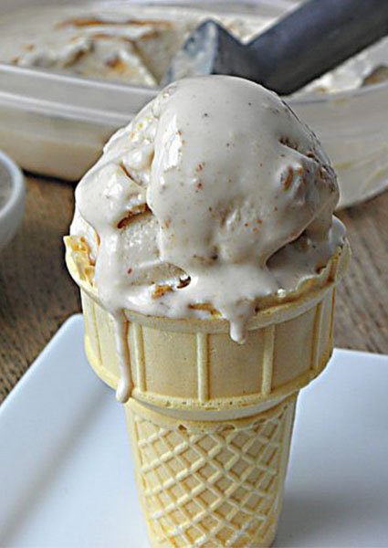 Peanut Butter Swirl Frozen Yogurt Recipe